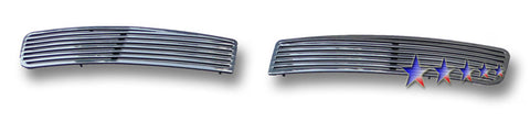 APS P97224A Perimeter Grille for Pontiac G8 (Polished) - Lower Bumper