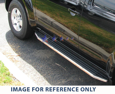 APS RB-HO214S Running Board for Honda Pilot (Chrome/ Black)