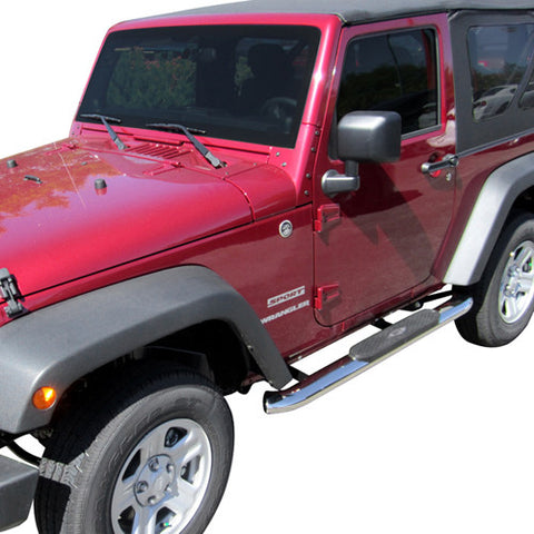 Aries S222009-2 Side Bars for Toyota Tacoma (Polished stainless)