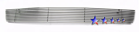 APS T65430A Aluminum Billet Grille for Toyota Sequoia (Polished) - Lower Bumper