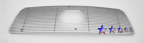 APS T65458K Aluminum Wide Grille for Toyota Tundra (Polished) - Main Upper