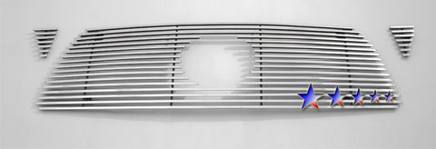 APS T66456K Aluminum Wide Grille for Toyota Tacoma (Polished) - Main Upper