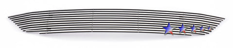 APS T66929A Aluminum Billet Grille for Toyota Yaris (Polished) - Lower Bumper