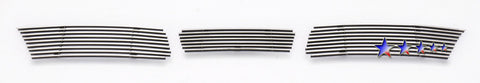 APS T66934A Aluminum Billet Grille for Toyota Camry (Polished) - Lower Bumper