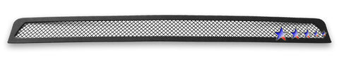 APS T76457H Black Wire Mesh Grille for Toyota Tacoma (Black Powder Coated) - Lower Bumper