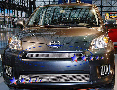 APS T76551T Mesh Grille for Scion XD (Chrome) - Main Upper