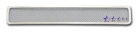 APS T76745T Mesh Grille for Toyota 4Runner (Chrome) - Lower Bumper