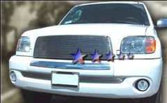 APS T85393A Aluminum Billet Grille for Toyota Tundra (Polished) - Main Upper