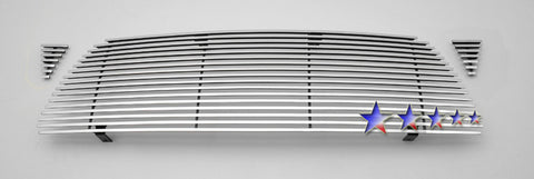 APS T85460K Aluminum Wide Grille for Toyota Tacoma (Polished) - Main Upper