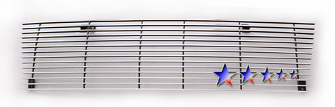 APS T85463A Aluminum Billet Grille for Toyota Tacoma (Polished) - Main Upper