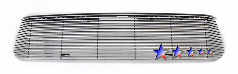 APS T85985A Aluminum Billet Grille for Toyota Tundra (Polished) - Main Upper