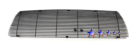 APS T86755H Black Aluminum Billet Grille for Toyota Tundra (Black Powder Coated) - Main Upper