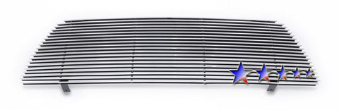 APS T86952A Aluminum Billet Grille for Toyota Tacoma (Polished) - Main Upper