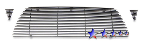 APS T86952H Black Aluminum Billet Grille for Toyota Tacoma (Black Powder Coated) - Main Upper