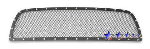 APS TL5464H Rivet Grille for Toyota Tundra (Black Powder Coated) - Main Upper