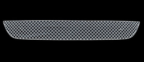 APS TX6926S X Mesh Grille for Toyota Yaris (Chrome) - Lower Bumper