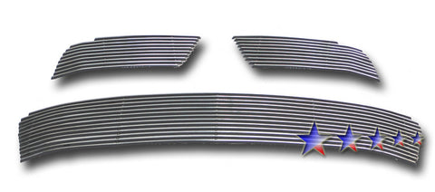 APS U66821A Aluminum Billet Grille for Mitsubishi Outlander (Polished) - Main Upper