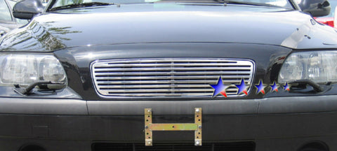 APS V95505A Perimeter Grille for Volvo S60 (Polished) - Main Upper