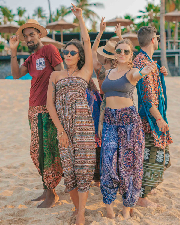 AGRABAH YOGA PANTS Elepanta Yoga | Hippie Pants - Buy Today Elephant Pants Jewelry And Bohemian Clothes Handmade In Thailand Help To Save The Elephants FairTrade And Vegan