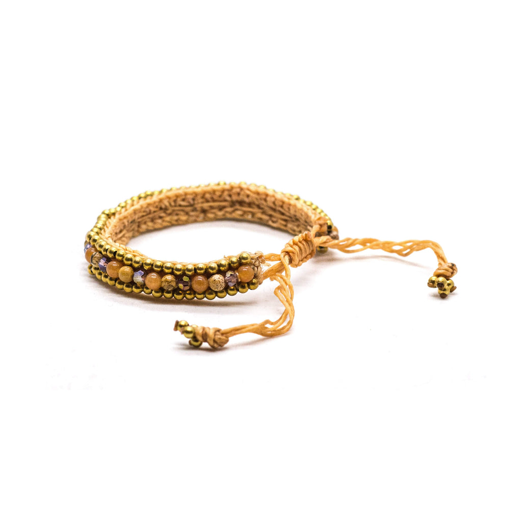 AMALFI BRACELET Elepanta Brass Bracelet | Jewelry - Buy Today Elephant Pants Jewelry And Bohemian Clothes Handmade In Thailand Help To Save The Elephants FairTrade And Vegan