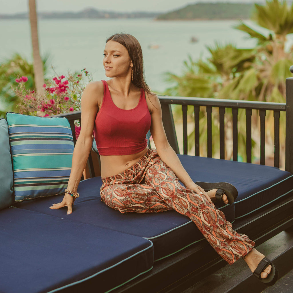 AMALFI PALAZZO Elepanta Palazzo | Casual Pants - Buy Today Elephant Pants Jewelry And Bohemian Clothes Handmade In Thailand Help To Save The Elephants FairTrade And Vegan