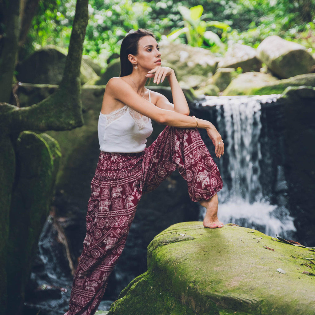 Agra Pants Elepanta Women's Pants - Buy Today Elephant Pants Jewelry And Bohemian Clothes Handmade In Thailand Help To Save The Elephants FairTrade And Vegan