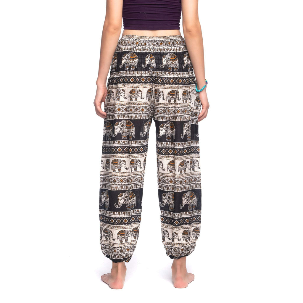 Angkor Pants Elepanta Women's Pants - Buy Today Elephant Pants Jewelry And Bohemian Clothes Handmade In Thailand Help To Save The Elephants FairTrade And Vegan
