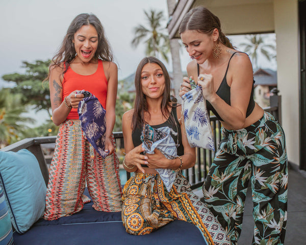 BUDELLI PALAZZO Elepanta Palazzo | Casual Pants - Buy Today Elephant Pants Jewelry And Bohemian Clothes Handmade In Thailand Help To Save The Elephants FairTrade And Vegan