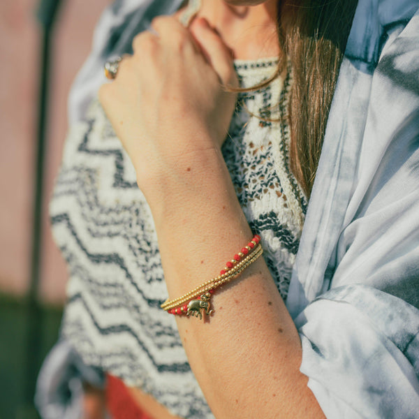 DELHI ELEPHANT BRACELET Elepanta Elephant Bracelet | Jewelry - Buy Today Elephant Pants Jewelry And Bohemian Clothes Handmade In Thailand Help To Save The Elephants FairTrade And Vegan