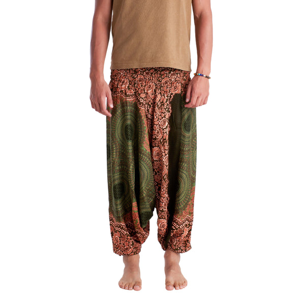 BHUTAN YOGA PANTS - Green