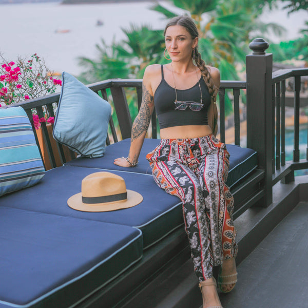 IBRA ELEPHANT PALAZZO Elepanta Palazzo | Casual Pants - Buy Today Elephant Pants Jewelry And Bohemian Clothes Handmade In Thailand Help To Save The Elephants FairTrade And Vegan