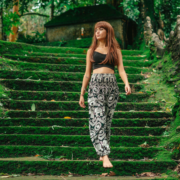 Krabi Pants Elepanta Women's Pants - Buy Today Elephant Pants Jewelry And Bohemian Clothes Handmade In Thailand Help To Save The Elephants FairTrade And Vegan