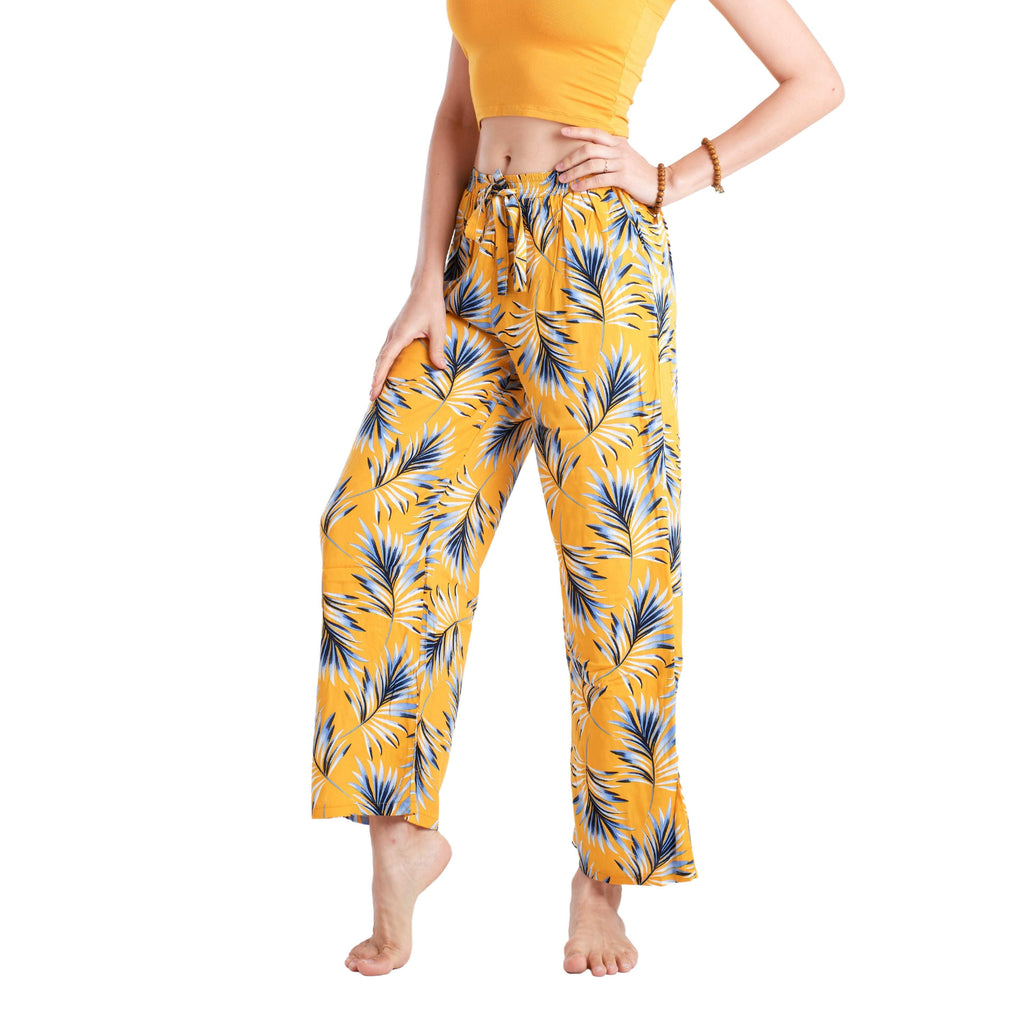 LOMBOK PALAZZO Elepanta Palazzo | Elastic Waist - Buy Today Elephant Pants Jewelry And Bohemian Clothes Handmade In Thailand Help To Save The Elephants FairTrade And Vegan