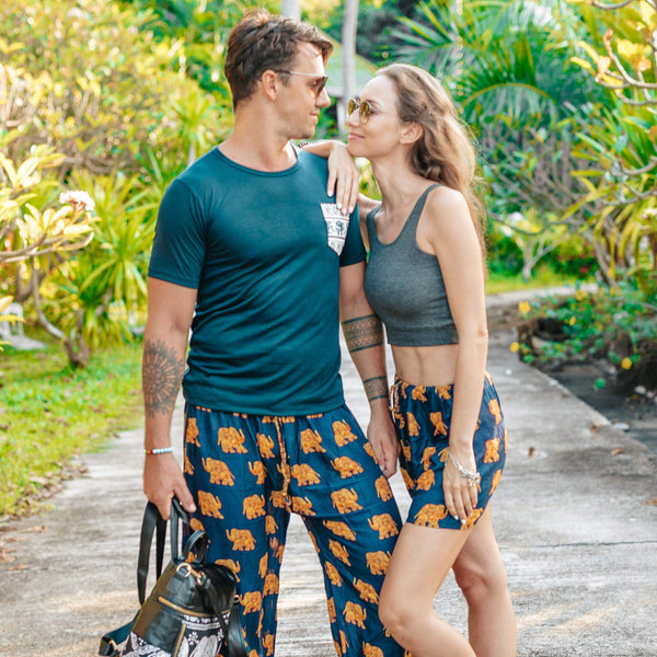 Savanna Elephant Pants Elepanta Men's Pants - Buy Today Elephant Pants Jewelry And Bohemian Clothes Handmade In Thailand Help To Save The Elephants FairTrade And Vegan