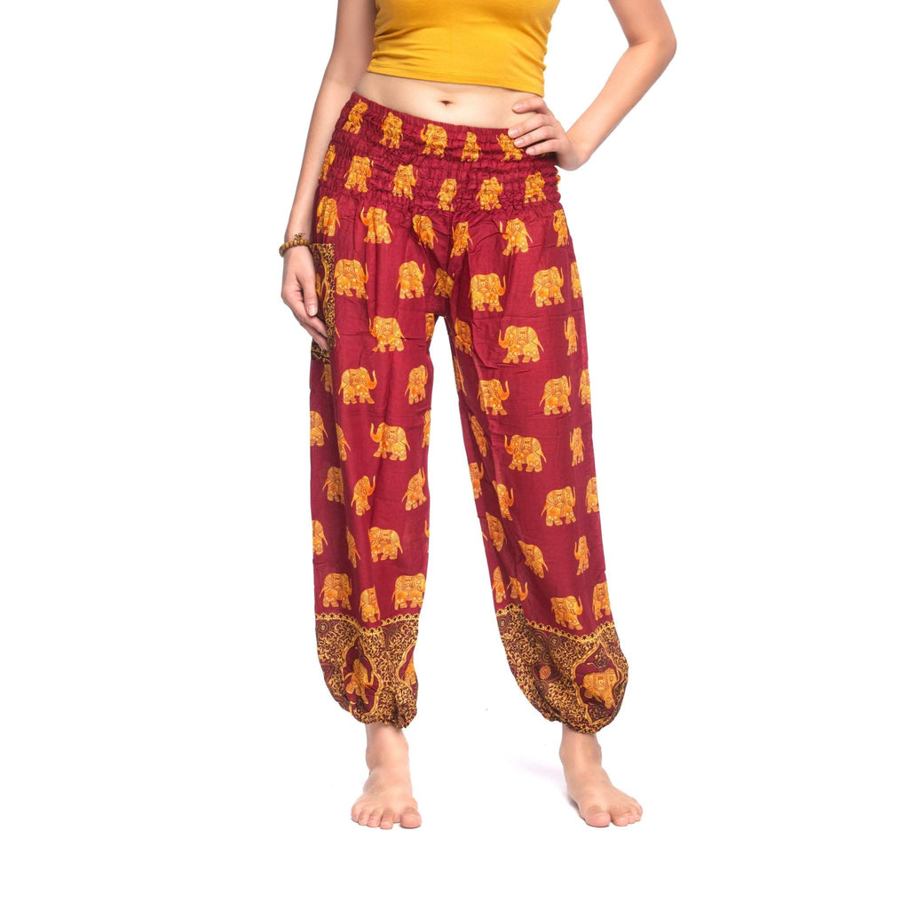 Savanna Pants Elepanta Women's Pants - Buy Today Elephant Pants Jewelry And Bohemian Clothes Handmade In Thailand Help To Save The Elephants FairTrade And Vegan