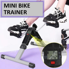 Load image into Gallery viewer, Mini Exercise Fitness Bike Tools Leg Beauty Trainer Pedal Machine Rehabilitation Leg Hand Training Equipment Digital Counter