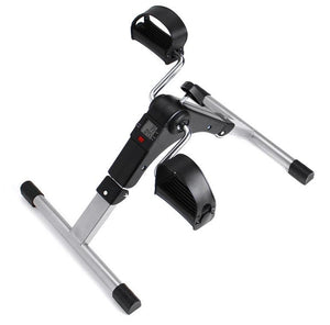 Mini Exercise Fitness Bike Tools Leg Beauty Trainer Pedal Machine Rehabilitation Leg Hand Training Equipment Digital Counter