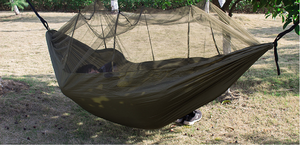 1-2 Person Portable Outdoor Camping Hammock With Mosquito Net.