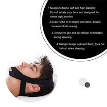 Load image into Gallery viewer, Аnti Snore Stop Snoring Chin Strap
