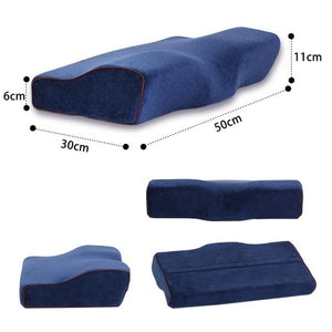 Memory Foam Cervical butterfly Pillow Ergonomic Neck Pillow