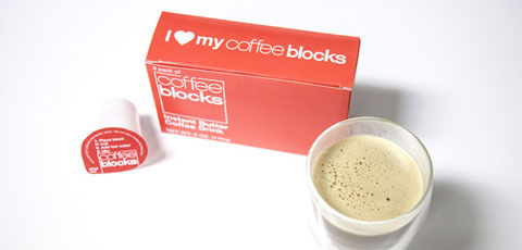 Coffee Blocks Instant Butter Coffee in Paleo Magazine