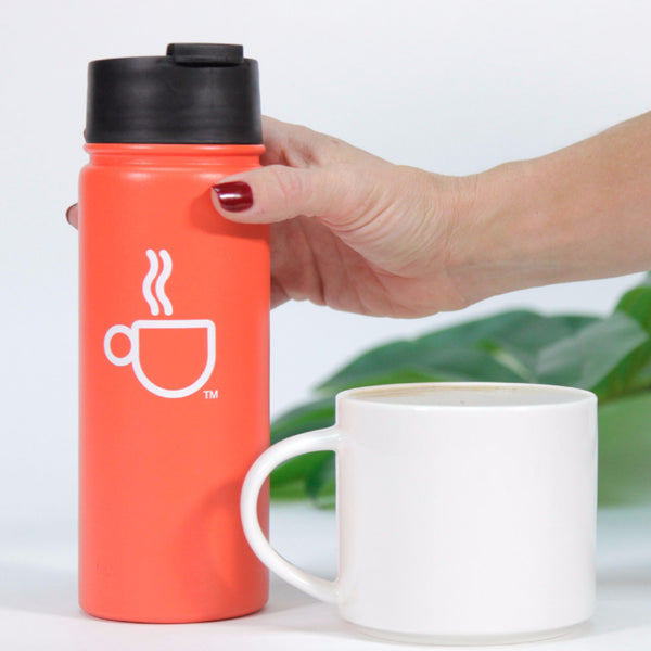 18 Oz Vacuum Insulated Coffee Bottle