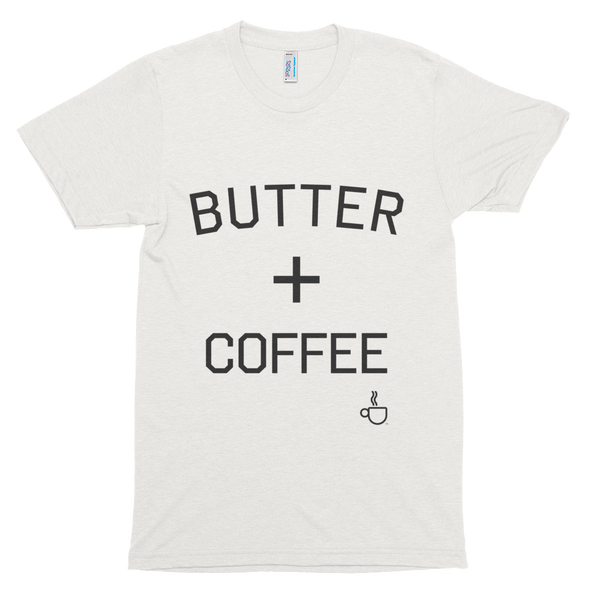 Butter Plus Coffee Tri-blend T-shirt