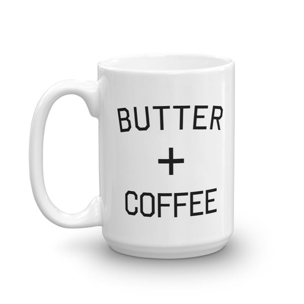Butter Plus Coffee Mug