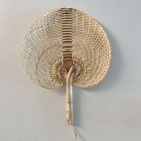 Straw small fan
