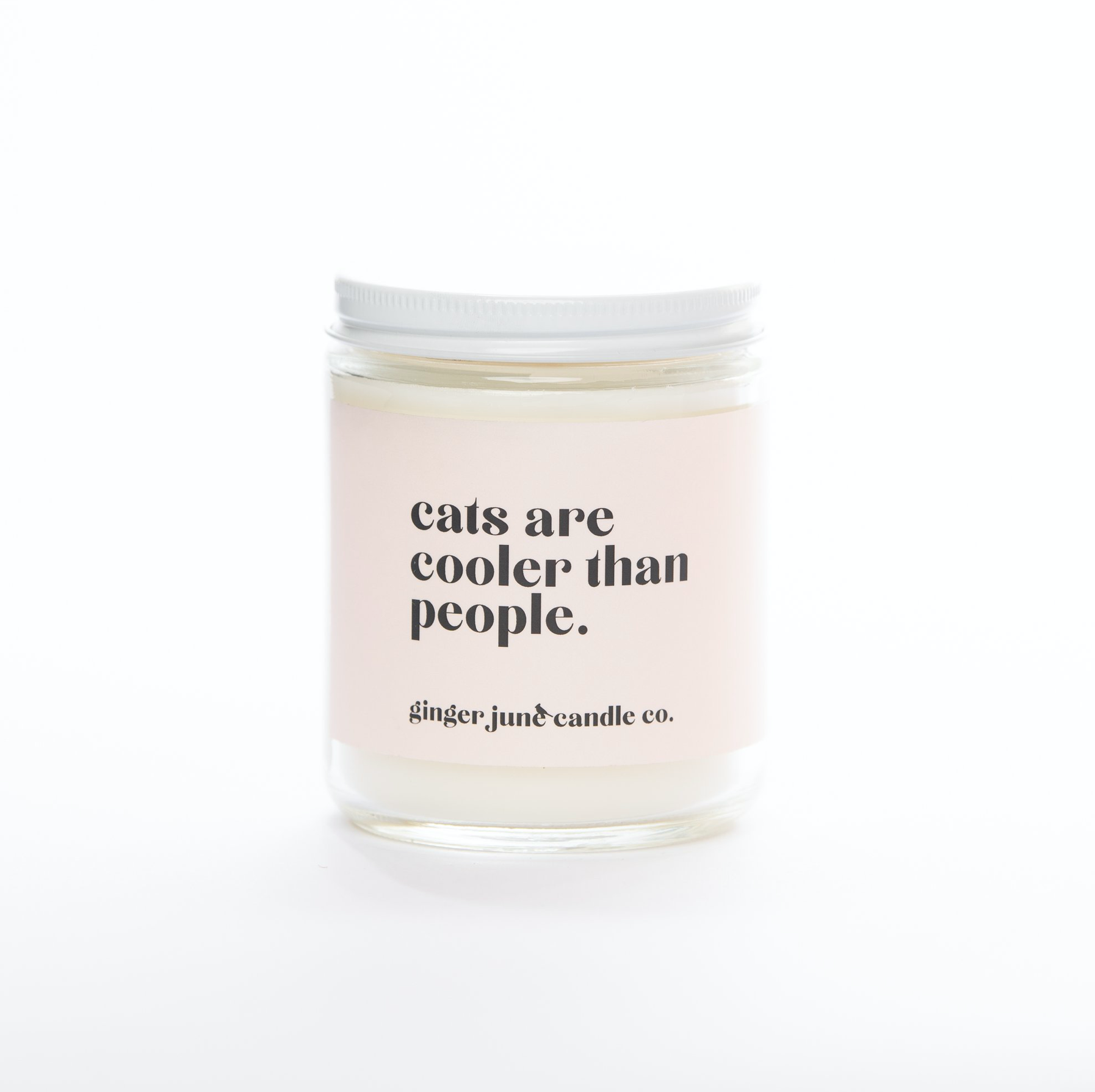 Cats Are Cooler Than People Candle (9oz)