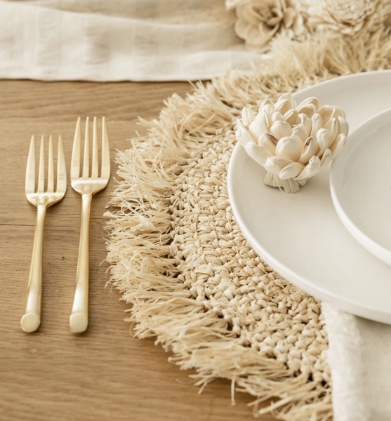 Bondi natural placemat
