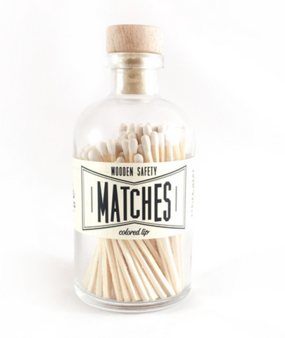 Vintage White Matches
