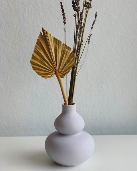 Mini sculpture vase (lilac)