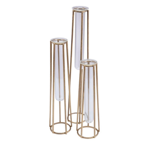 Caged Vases (3 set)